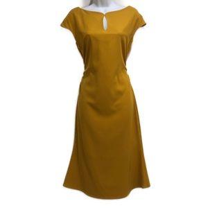 MISSLOOK women's yellow dress size 8